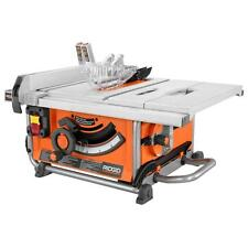 RIDGID 15 Amp 10 in Blade Compact Table Circular Saw Pro with Guard for Project