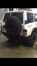 NISSAN PATROL GQ CUSTOM REAR TUBE BAR No Body Lift 4X4