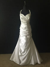 Alfred Angelo Wedding Dress- Ivory Silver- Size 16W- 2336W