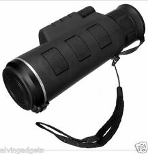 Monocular Telescope 12X52 Dual Focus Zoom Ultra HD Zoom Optic Lens
