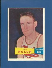 1957-58 Topps # 76 Joe Holup - SP - Syracuse Nationals - EX - FREE SHIPPING