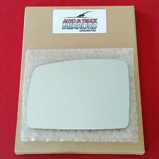 NEW Mirror Glass + ADHESIVE 05-09 RANGE ROVER Driver Left Side LH DIM FIT OVER