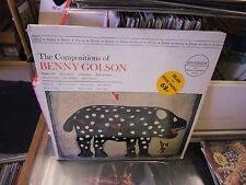 Benny Golson The Compositions OF vinyl LP Riverside Records VG+ IN Shrink