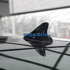 Black Car Vehicle Dummy Top Roof Shark Fin Antenna Aerial Air Decal Sticker Cap