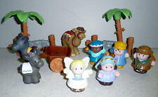 Fisher Price Little People NATIVITY FIGURES, ANIMALS AND ACCESSORIES 2008 *Cute