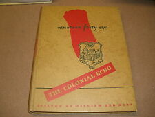 1946 William and Mary College williamsburg va School YEARBOOK