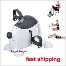 Portable Gym Fitness Workout Hand Foot Pedal Mini Exercise Bike Bicycle Cycling