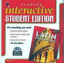 NEW - Latin for Americans Level 1, Interactive Student Edition CD-ROM