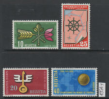 XG-V461 SWITZERLAND - Football, 1954 Events, 4 Values MNH Set