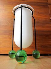 Memphis vidrio objeto jarrón Ettore Sottsass vistosi Murano 1987 sign etiqueta Top