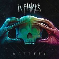 IN FLAMES - BATTLES  2 VINYL LP+CD LIMITED BOX EDITION NEU