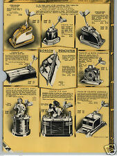 1938 PAPER AD Ronson Touch Tip Cigarette Lighter Watch Clock Penciliter Table