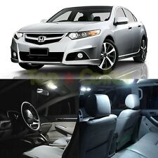 A Kit of White Interior LED Lights for 2003-2012 Honda Accord Euro R 7th Gen