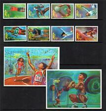 NEVIS MNH 1992 SG660-667 & MS668 OLYMPIC GAMES - BARCELONA SET OF 8 & M/S X 2
