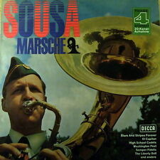 "12"" Band Of The Grenadier Guards Sousa Märsche 60`s DECCA Phase 4 SLK"