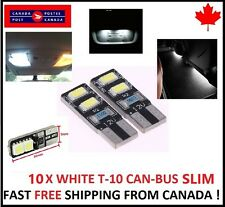 10X 4SMD White LED T10 194 168 Canbus Map Dome License Plate 6000k HID BRIGHT