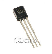 100Pcs 2N3906 TO-92 General Propose PNP Transistor