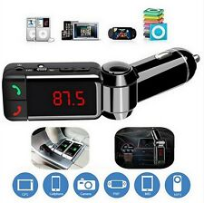 FM Transmitter MP3 Bluetooth Car Kit LCD USB Charger Handsfree For Mobile Phone