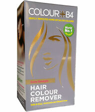 Colour B4 Colourb4 Hair Colour Remover Stripper Removes Hair Dye Extra Strength