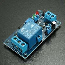 New 12V Power-ON Open Type Delay Timer Relay Module Delay Circuit Module Blue US