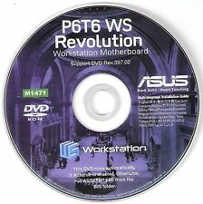 ASUS P6T6 WS Revolution  Motherboard Drivers Installation Disk M1471