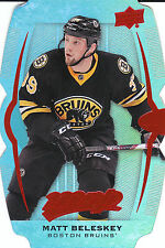 16/17 UPPER DECK MVP COLORS & CONTOURS LEVEL 2 TEAL #137 MATT BELESKEY *20029