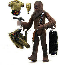 Star Wars C-3PO Saga Collection Chewbacca Cloud City Capture Figure Toys SX51