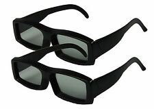 Circular 3D GLASSES for Passive TV - 2  Pairs - RealD movies