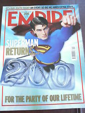 EMPIRE MAG FEB 2006 #200 SUPERMAN RETURNS JARHEAD WOODY ALLEN ERIC BANA
