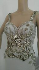 ALEXANDER MCQUEEN AMAZING JEWELED DRESS GOWN SZ IT42