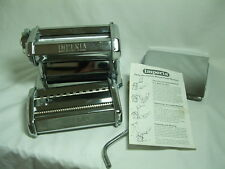 IMPERIA DELUX Pasta Making Machine Roller Box Instructions Recipe Booklet Italy