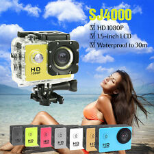 SJ4000 720P HD Mini Action Camera Sports DV Helmet Bike Camcorder Waterproof UK