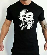 Anonymous Anarchy T-SHIRT V per Vendetta ignorare ordine T-SHIRT Gandhi