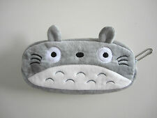 Kawaii Totoro Pencil Case Plush Purse Cosmetic Pouch Pen Bag Gift Studio Ghibli