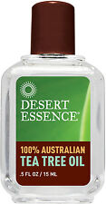 100% Pure Australian Tea Tree Oil, Desert Essence, 0.5 oz