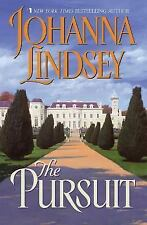 The Pursuit by Johanna Lindsey (2002, Hardcover) Scotland London Romance Book