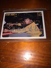 2006 Star Trek Card #106 Autograph By Nichelle Nichols
