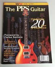 PRS Paul Reed Smith Guitar Player Magazine Book 2005 Santana Tremonti WORLDWIDE