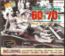 Hits of the 60's and 70's Vol.3 Lovin Spoonful, Paul Simon, Billy Ocean.. [2 CD]