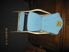 Vintage Castelli Doll Highchair Metal