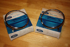 NOS 1969 FORD MUSTANG BOSS 302 429 HEADLIGHT DOORS CHROME C9ZZ-13064-A