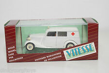 VITESSE MERCEDES-BENZ MERCEDES BENZ 170V 170 V AMBULANCE MINT BOXED
