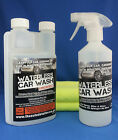 AN AMAZING 10 BOTTLE WATERLESS CAR WASH WAX JUST SPRAY WIPE & SHINE KIT