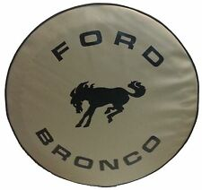 "SpareCover® ABC Series - FORD BRONCO 30"" TAN Heavy Duty Vinyl Tire Cover"