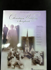 Christian Wedding Songbook: Piano/Vocal/Guitar Songbook 2001 Paperback