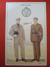 MILITARY POSTCARD-BRITISH ARMY SERIES- ARMY AIR CORPS BY W YOUNGHUSBAND