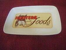 Hooter's Foods Wings/Appetizer Serving Dish - Measures 6 x 9 - MINT!