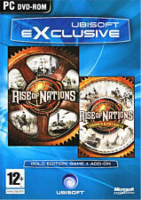 Rise of Nations Gold with THRONES & PATRIOTS Expansion Brand New Fast Shipping