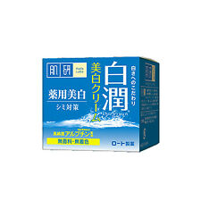 F142 Japan ROHTO Hadalabo Whitening Cream 50g