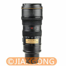 Nican Lens 1:1 AF-S 70-200mm f/2.8G VR Thermos Coffee Cup Stainless Mug with Bag